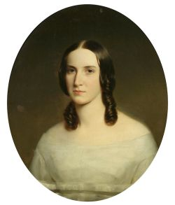 Henry Inman, Unidentified lady, c. 1835. Oil on canvas. Gift of Prosper Guerry, New-York Historical Society, 1951.371.