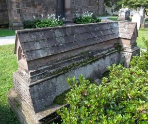The tomb of Bishop Doane